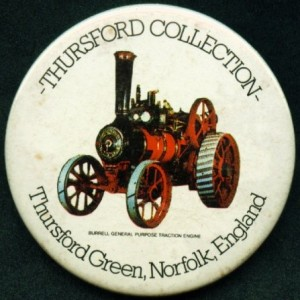Thursford Museum Badge